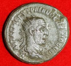 Trajan Decius, Bi TetraDrachma, 250-251D