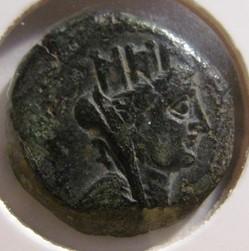 Cilicia, AE 21, 200-100BC