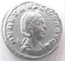 Herennius Estruscilla, 249-251 AD, AR An...