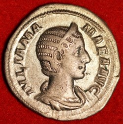 Julia Mamaea, AR Denarius 222-235AD