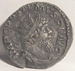 Postumus 268 AD, AE Ant