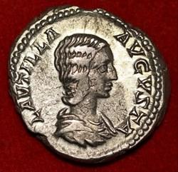 Plautilla, AR Denarius 202-205 AD