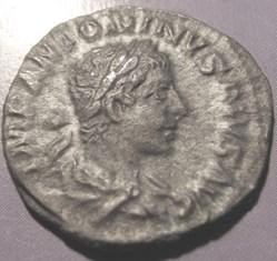 Elagabalus, AR Denarius 218-222AD