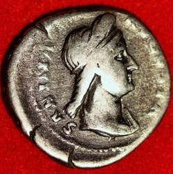 Sabina 132 AD, AR Denarius