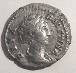 Faustina I (Senior) AR Denarius