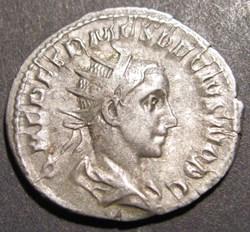 Herennius Estruscus, 250-251 AD, AR Ant