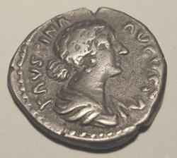 Faustina II (Junior) AR Denarius