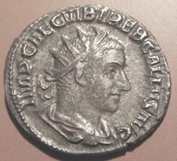 Trebonius Gallus, 251-253 AD, AR Ant