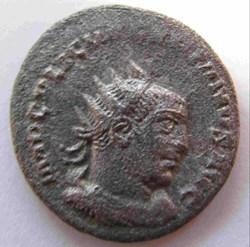 Valerian, 253-260 AD, AR Ant