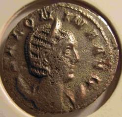 Salonina 257-258 AD, AR Ant