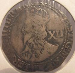 Charles I, 1643-1644, AR Shilling