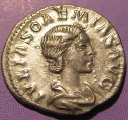 Julia Soaemias, AR Denarius 220-222AD