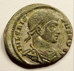 Crispus 316-326 AD AE silvered Follis