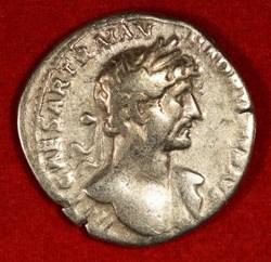 Hadrian, 117-138 AD, AR Denarius
