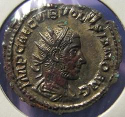 Volusian, 251-253 AD, AR Ant