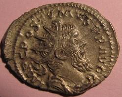 Postumus 260-268 AD, AR Ant