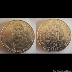 100 francs Clovis 1996