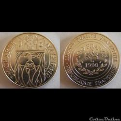 100 francs Charlemagne 1990