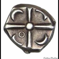 monnaie antique gauloise saves 377 drachme de style languedocien
