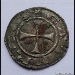 Languedoc - ÉVÊCHÉ ET CITÉ DE CAHORS -  Denier ANONYME (XIIIe siècle)