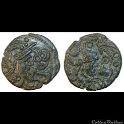 Bellovaques : Bronze au coq