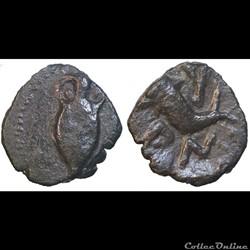 Neronken- Bronze à l'amphore et au dauphin