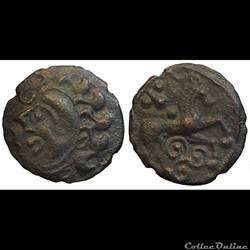 Ambiens - Bronze au cheval et au triskèle