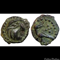 Bellovaques - Bronze à l'oiseau