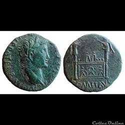 Auguste - as à l'autel de Lyon