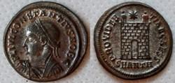 RIC.66 Constance II (AE3, Providentiae C...