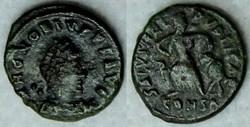 RIC.90c1 Honorius (AE4, Salvs Reipvblica...