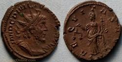 RIC.41 Victorin (antoninien, Aeqvitas Av...