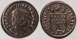 RIC.311 Constantin II (AE3, Providentiae...