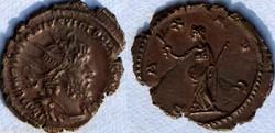 RIC.116 Victorin (antoninien, Pax Avg)