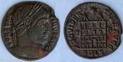 RIC.309 Constantin I (AE3, Providentiae ...