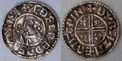 Aethelred II (crux penny, Winchester)