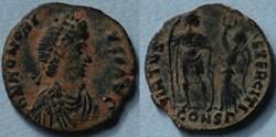 RIC.61 Honorius (AE3, Virtus Exerciti)