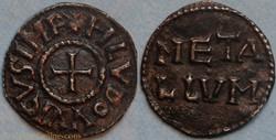 Louis le Pieux (denier, Melle)