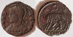 RIC.373 Rome (AE3, Arles, couronne, SCON...