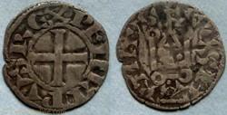 Philippe II (denier tournois, Saint Mart...