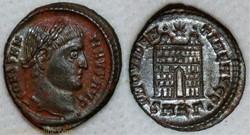 RIC.34 Constantin I (AE3, Providentiae A...