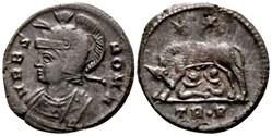 RIC.542 Rome (AE3, Trèves, TR•P)
