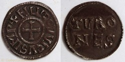 Louis le Pieux (denier, Tours)