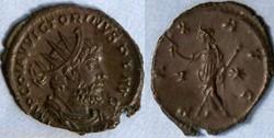 RIC.117 Victorin (antoninien, Pax Avg V*...
