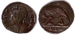 RIC.338 Rome (AE3, Rome, RBQ)