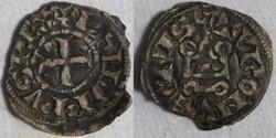 Philippe IV (obole tournoi à l'O rond)
