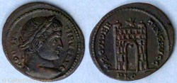 RIC.225 Constantin I (AE3, Providentiae ...