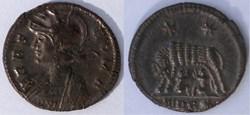 RIC.547 Rome (AE3, Trèves, TRP*)