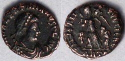 RIC.67a1 Valentinien II (AE4, Salvs Reip...