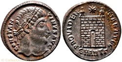 RIC.71 Constantin I (AE3, Providentiae A...